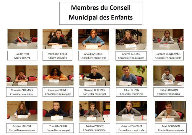 conseil municipal d'enfants 2016