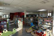 Rayons de la bibliothèque municipale
